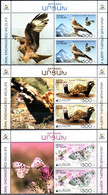 "Artsakh 2021 ""Europa""The National Endangered Wildlife. Red Kite,Marbled Polecat,Apollo"" 3v X 2 Zf Quality:100% - Armenia"