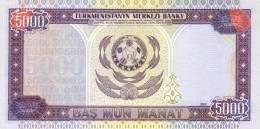 TURKMENISTAN P. 12b 5000 M 2000 UNC - Turkmenistan