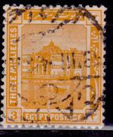 Egypt, 1921-22, Archeology, 3m, Used - Used Stamps