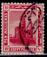 Egypt, 1921-22, Art/Statue, 10m, Used - Used Stamps
