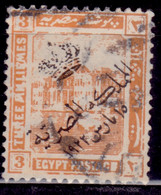 Egypt, 1922, Egyptian History, Overprinted, 3m, Used - Used Stamps