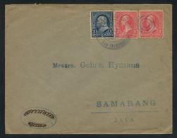 "US 1898 Cover From ""MIL. STA. No. 1 PHILIPPINE ISLS. SAN FRANCISCO, CAL."" To Samarang, DUTCH INDIES, RARE DESTINATION - Marcofilia"