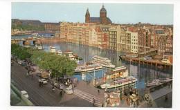PAYS-BAS - AMSTERDAM - Reederij Plas - Animée + Voitures Etbateaux (A167) - Amsterdam
