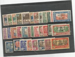 43/65  Timbres De NC Surchargés Charniéres    (albuwa) - Unused Stamps