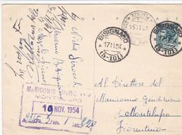 Bisignano (Ascoli) Frazionario 5-101 Del 1954 - 1946-60: Marcofilia