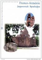 FRANCE - ARMENIE 2007 : Document Officiel 2007 De 4 Pages N° YT 4058 4059 + ARMENIE 542 543 DPO - Gemeinschaftsausgaben