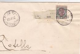 Ascoli Piceno Succ. 1 Frazionario 5-82 Del 1923 - Marcofilía