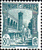 Tunisie Poste N** Yv:135 Mi:135 Mosquée Halfaouine Tunis (Petit Def.gomme) - Unused Stamps