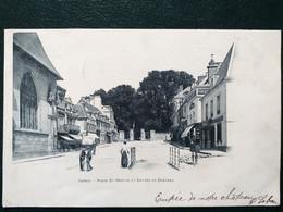 61 , Laigle ,  La Place Saint Martin En 1903 - L'Aigle