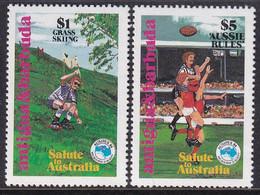 Antigua & Barbuda 1984 Ausipex Sc 779-80 Mint Never Hinged - Antigua And Barbuda (1981-...)