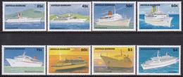 Antigua & Barbuda 1989 Cruise Ships Sc 1187-94 Mint Never Hinged - Antigua And Barbuda (1981-...)