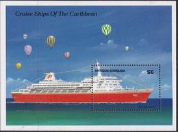 Antigua & Barbuda 1989 Cruise Ship Sc 1196 Mint Never Hinged - Antigua And Barbuda (1981-...)