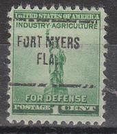USA Precancel Vorausentwertung Preo, Locals Florida, Fort Myers 704 - Precancels