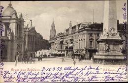 CPA Potsdam In Brandenburg, Schlossstraße, Obelisk - Otros