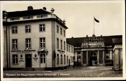 CPA Potsdam In Brandenburg, Am Neuen Markt, Gaststätte Zur Ratswaage, Marstall - Otros