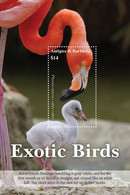 Antigua And Barbuda 2020 Fauna Flamingo, Exotic Birds I202008 - Antigua And Barbuda (1981-...)