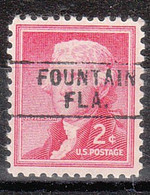 USA Precancel Vorausentwertung Preo, Locals Florida, Fountain 745 - Precancels