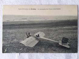 École D'aviation Du Crotoy - Le Monoplan Des Frères Caudron-62 - ....-1914: Precursores