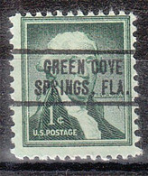 USA Precancel Vorausentwertung Preo, Locals Florida, Green Cove Springs 736 - Precancels