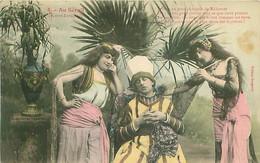 Illustrateur Bergeret - Au Serail - N° 5 - Femme En Tenue   F 1067 - Bergeret