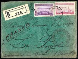 776 -  LIECHTENSTEIN - ZEPPELIN - 1936 - COVER  - FULL SET - FORGERY - FAUX - FALSO - FALSCH - FAKE - Unclassified