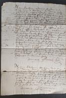 Acte 1646 - Manuscripten
