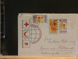 94/393 LETTRE    ALLEMAGNE DDR - Red Cross