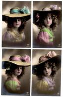 Set Of  6 Grete Rheinwald (hat/ Chapeau) - Femmes