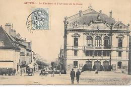 A/222            71      Autun        Avenue De La Gare & Le Theatre - Autun