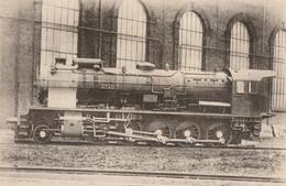 CARTE POSTALE ORIGINALE ANCIENNE : LOCOMOTIVE VAPEUR DE L'ALGERIE MACHINE N° 150 C 571 TYPE EST CONSTRUITE EN 1929-30 - Equipment