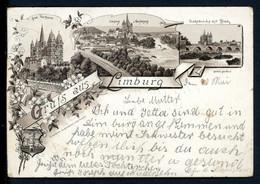 AK Limburg A. Lahn 1904 Limburger Dom, Panorama, Lahnbrücke (1C315 - Unclassified