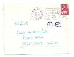 PAS De CALAIS - Dépt N° 62 = St POL Sur TERNOISE 1974 =  FLAMME à DROITE =  SECAP ' CARRIERES PTT / Pour Votre Avenir ' - Annullamenti Meccanici (pubblicitari)