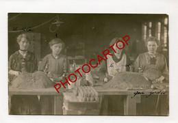 Fabrication De Munitions-!?-NOM Au DOS-Technique-CARTE PHOTO Allemande-Guerre 14-18-1WK-Militaria- - War 1914-18