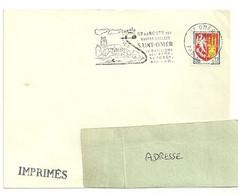 PAS De CALAIS - Dépt N° 62 = SAINT OMER 1965 = FLAMME Non Codée = SECAP Illustrée ' Côte Opale + ROUTE VERTES  VALLÉES ' - Annullamenti Meccanici (pubblicitari)