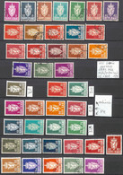 [858398]TB//MIX/MIX-c:60e-Norvège 1955 - N° 67/93, **/mnh, */mh Et Obl/Used (voir Scan) - Used Stamps