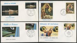 POSTE AERIENNE N° 131 / 132 / 133 / 149 Sur Enveloppes Premier Jour. - FDC