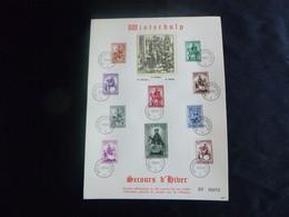 BELG.1942 583-592 FS/HB - Secours D'hiver St Martin / Winterhulp Sint Maarten / Winterrettung St. Martin - ....-1951