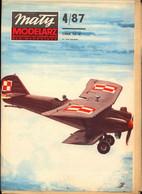 Mały Modelarz 1987.04 Samolot Breguet XIX B-2 - Paper Models / Lasercut