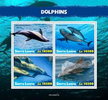 Sierra Leone 2020 Fauna  Dolphins S202012 - Sierra Leone (1961-...)