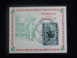 "BELG.1958 : "" EXPO 58 "" - Commemorative Labels"