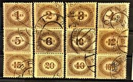 AUSTRIA 1900 - Canceled - ANK 22-33 - Portomarken - Postage Due