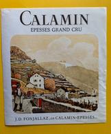 19587 - Calamin J.D.Fonjallaz  En Calamin Epesses - Altri