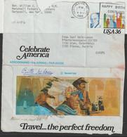 1988 - USA - Bedarfsbeleg (Aerogramm), Gelaufen Nach Wien, Frankiert M. 3 C - O Gestempelt - S. Scan  (us 1019b) - Brieven En Documenten