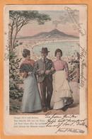 Napoli Italy Old Postcard Mailed - Napoli (Naples)