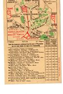 Plan Des Tramways Pour Se Rendre à L'Exposition De Bruxelles 1935 - Tentoonstellingen
