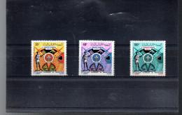 MAURITANIE A 112/114** SUR LE SCOUTISME - Mauritania (1960-...)