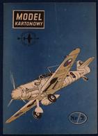 Model Kartonowy 2 AVIA S-99 - Paper Models / Lasercut