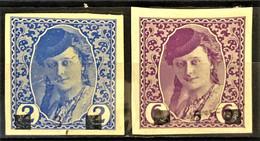 YUGOSLAVIA 1918 - MLH - Sc# 1L21, 1L22 - Neufs