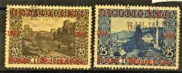 YUGOSLAVIA 1918 - Canceled - Sc# 1L4, 1L5 - Neufs