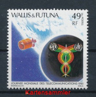 WALLIS UND FUTUNA INSELN Mi. Nr. 388 Weltfernmeldetag - MNH - Unused Stamps